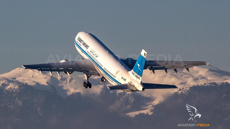 Kuwait Airways Airbus A300 9K-AME