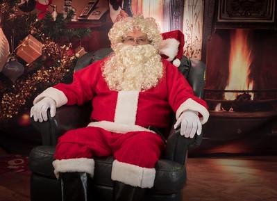 Santa Test Pops