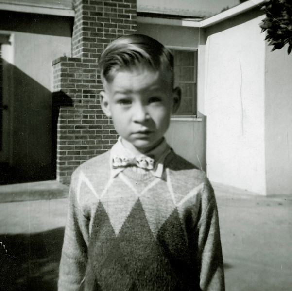 Los Angeles, the early fifties. I look to the future.