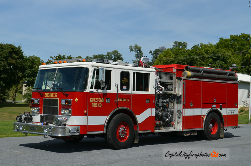 Kutztown Fire Co. (Jackson Township) X-Engine 32: 1997 Pierce Saber 1750/1000 (X-Hope Valley Wyoming, RI)