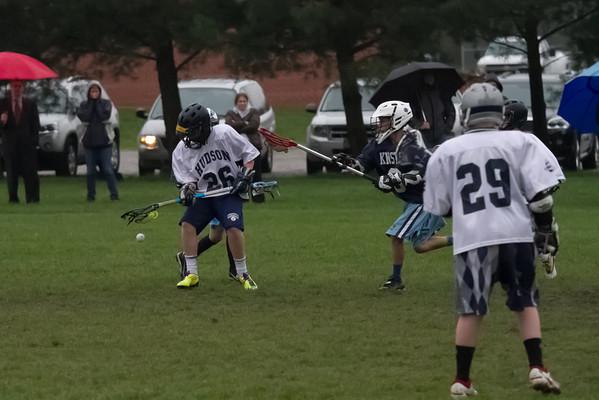 Hudson Boys 6th Grade vs Kenston