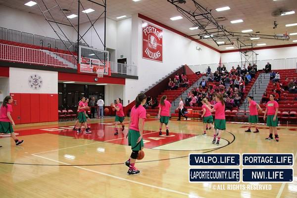 VHS Girls Varsity Basketball vs PHS 1-11-13