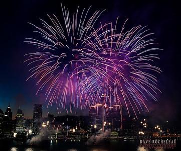 Windsor Waterfront Fireworks June 2016