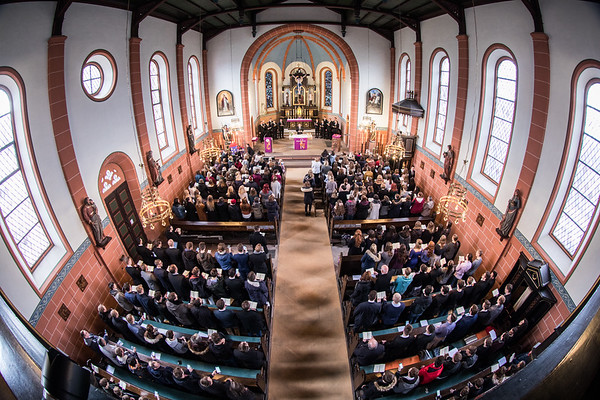 Gottesdienst Jugendorchester WE 2018 mit Bischof Kisselbach 11.03.18