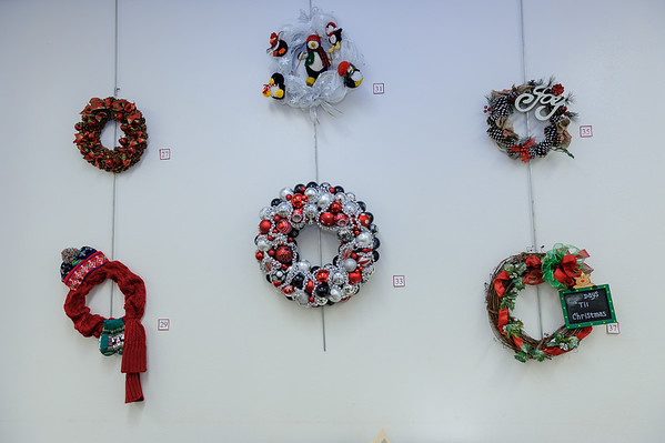 2016 Library Wreaths