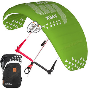 HQ HQ4 Apex Snow Kite Kiteboarding Depower Foil Traction Kite
