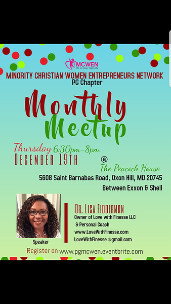 Minority Christian Women Entrepreneurs Network