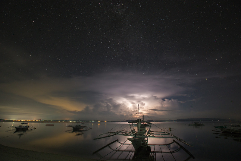 Lightning Storm over Bohol