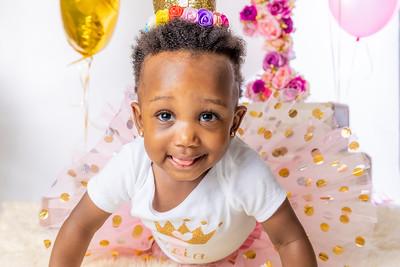 Reias First Birthday