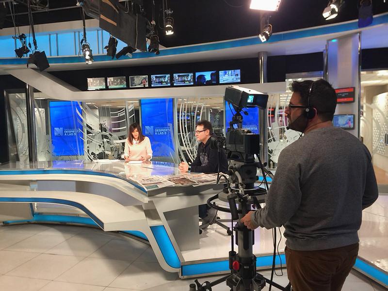 Entrevista Televisión Castilla la Mancha - Jesús M. García Flores - Fotógrafo del Año 2017