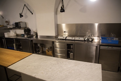 Kitchen for Catering Setup