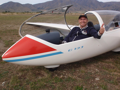 Omarama - Glider Flying