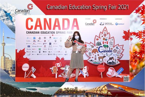 Canadian Education Fair 03/2021 instant print photo booth @ Gem Center | Chụp hình in ảnh lấy li�n Hội thảo du h�c Canada | Photobooth Vietnam