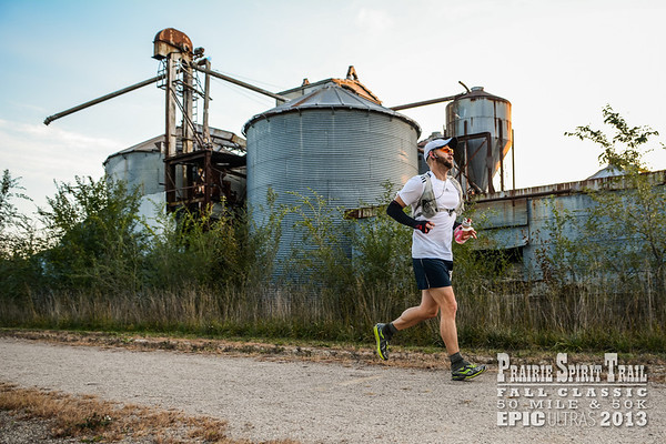 Prairie Spirit Trail Fall Classic 50 Mile and 50K Ultra Races - 2013