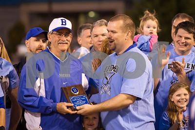2014 Varsity Baseball  vs Kendrick (Coach Clark 500 Wins)