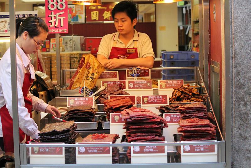 Range of Cured Meat for Sale, Macau