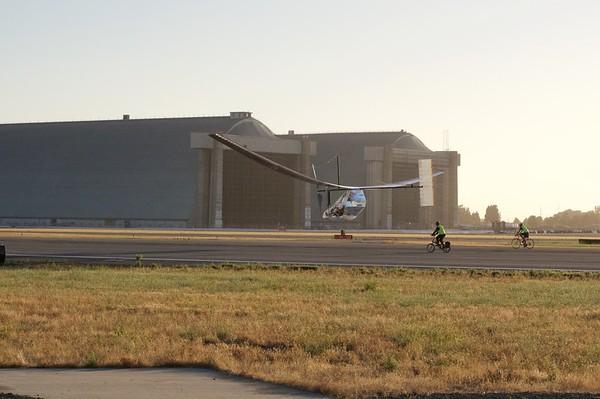 DaSH PA: Human-Powered Flight at Moffett Field 6/25/16, 6/26/16