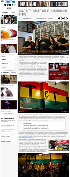 LA Weekly - I&I Article