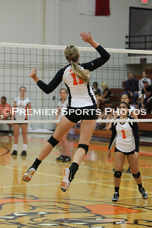 La Porte Varsity Volleyball vs Dickinson 8/17/2012
