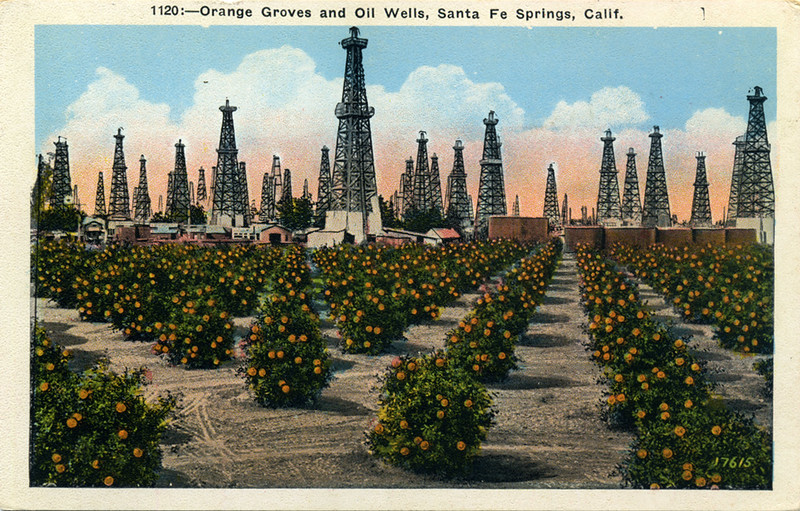 Orange Groves and Oil Wells