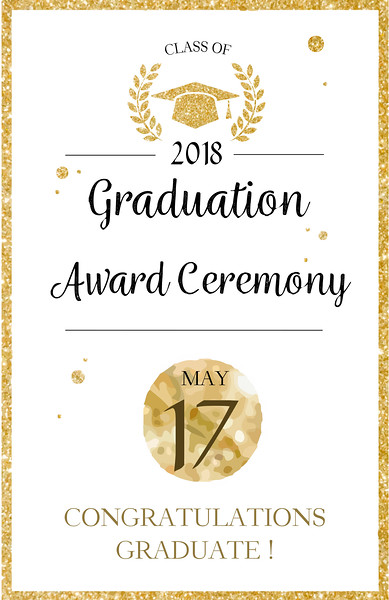 International's 1st Annual Graduation