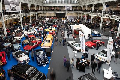 London Classic Car Show Olympia 2020