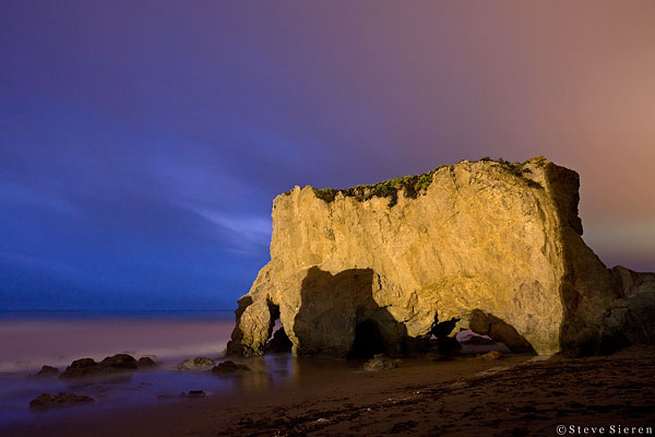 Rainning Bull - Santa Monica Mountains, Southern California