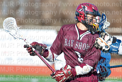 Lacrosse, Boys H.S. Varsity, St John's vs Bay Shore, 03-24-09