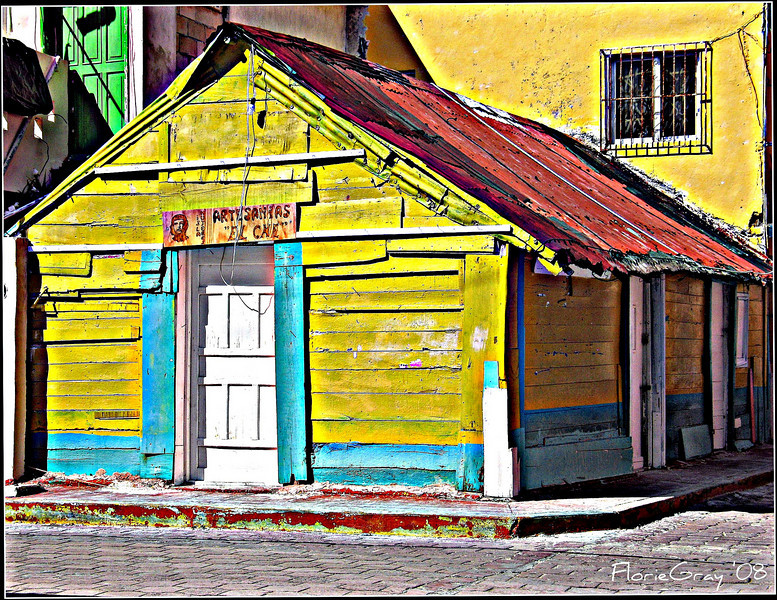 The Sunny Side of the Street, Isla Mujeres, Mexico 