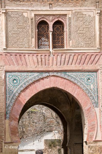 Fri 3/11 at La Alhambra in Grenada: Decorative stonework