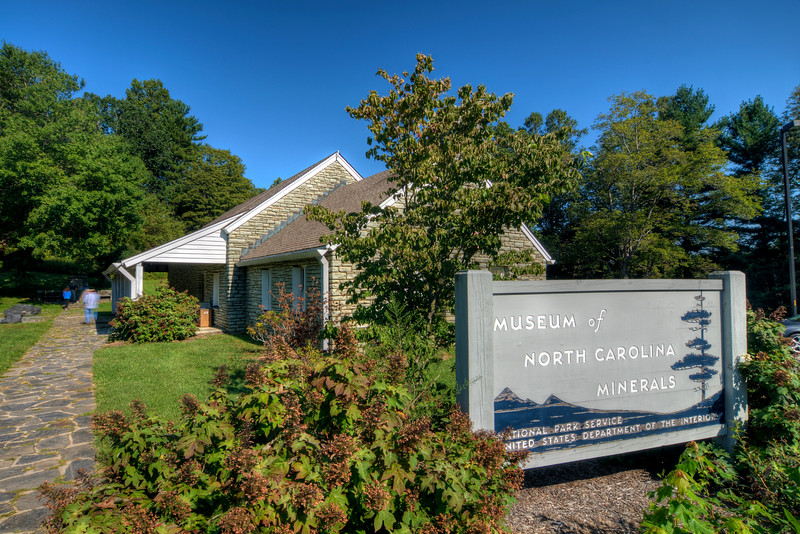 Museum of North Carolina Minerals on the Blue Ridge Parkway in N