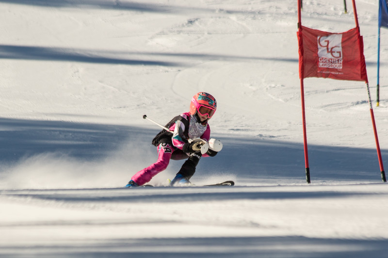 Addison Baer No. 6 (WPRC) Grenier Law Group GS Race U8-U19 - Wisp Resort