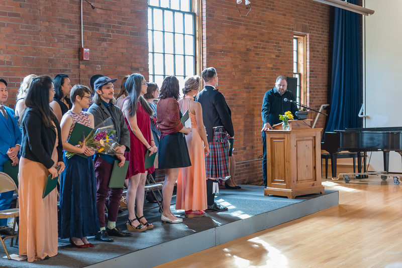 VCFA Graduation