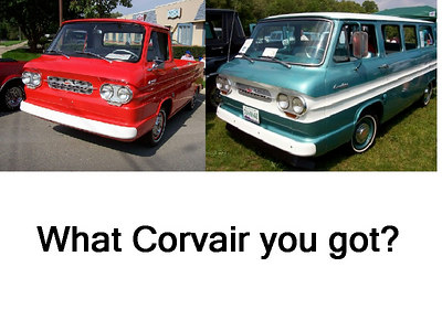 What Corvair you got?