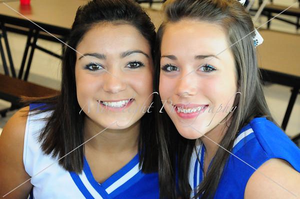 CCS 09 Varsity Cheerleaders