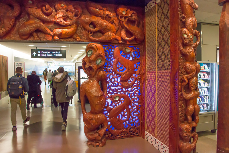 Maori art welcome to NZ 5493