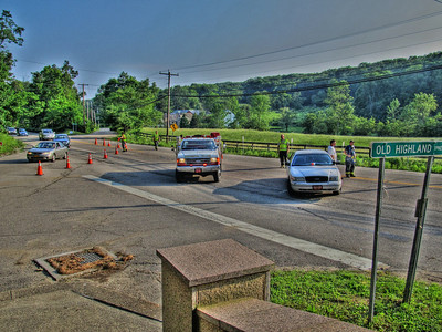 5-28-12 Mutual-Aid Traffic, Route 9 Garrison