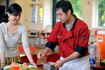 Sushi Making Manami Matsuoka
