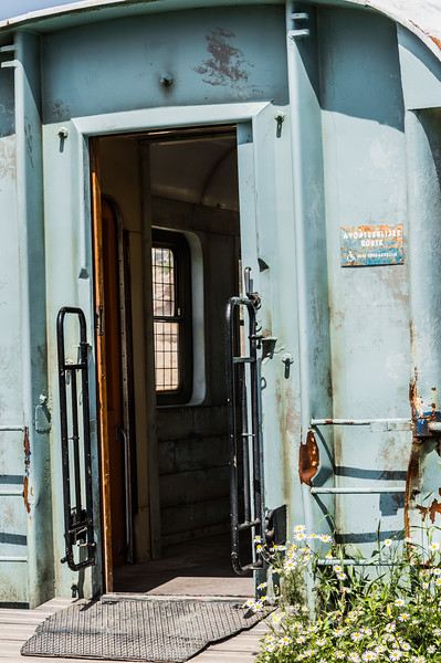 Train wagon door