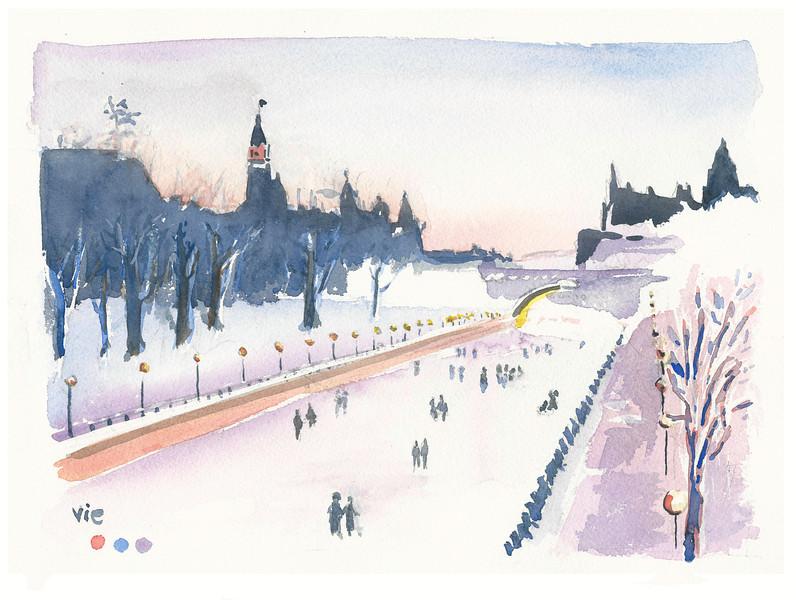 No.52 Le canal rideau en hiver.jpg