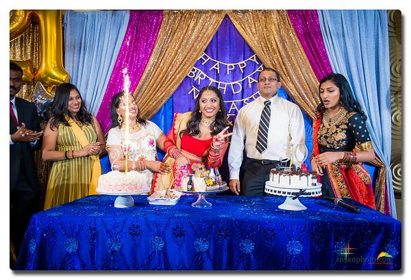 Natasha's 21st & Raju's 50th Milestone Birthdays