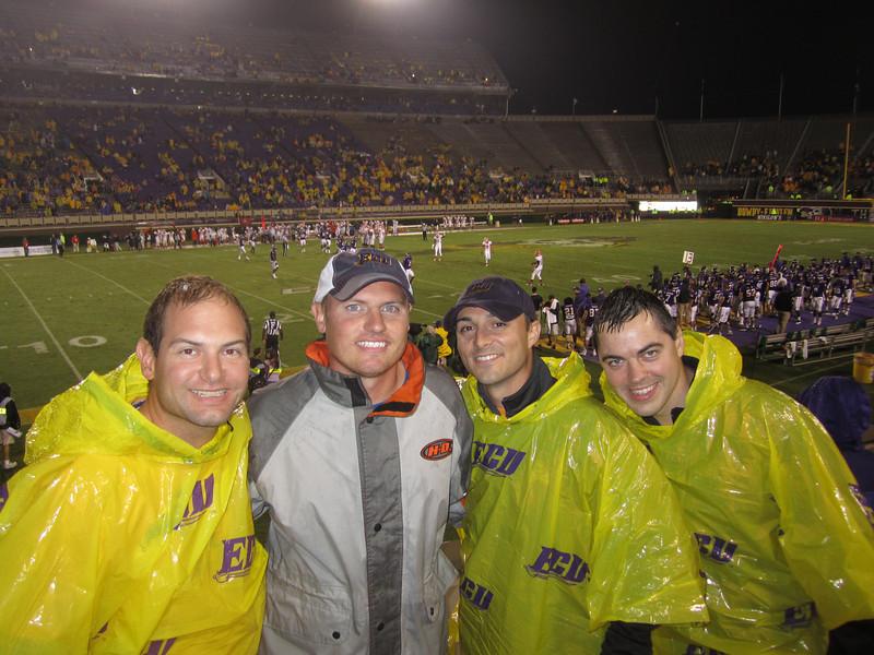 9/29 UTEP Back in the stadium during the 4th quarter Jon, JG, Chris, Kevin