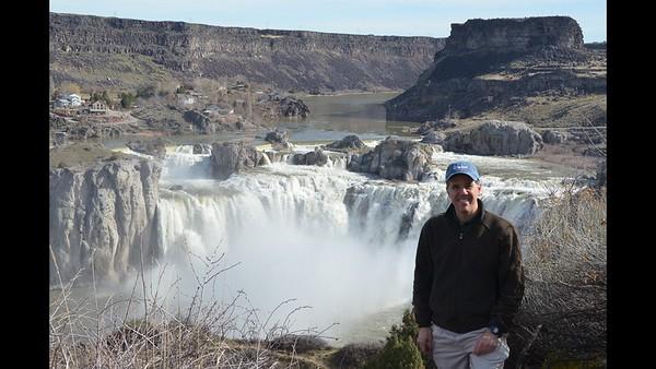 Memories at Shoshone Falls 3-11-17