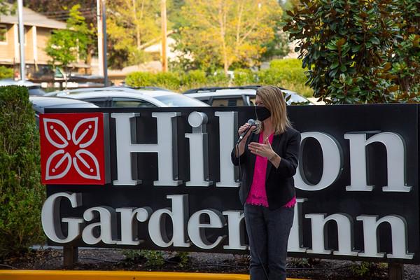 Hilton Garden Inn Redmond Ribbon Cutting 9_30_2020
