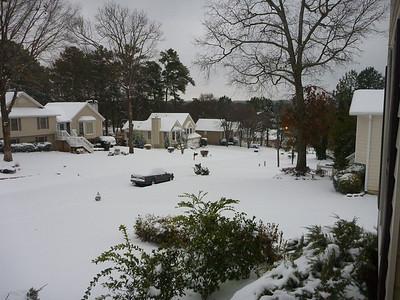 01-10 - Snowfall - Smyrna, GA