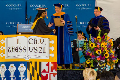 Nailah Graduation 2019 Goucher College