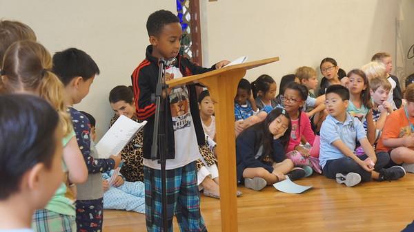 20150519 2nd Grade Poetry Presentation