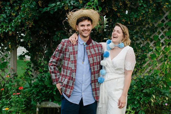 Emily & Keegan Backyard Wedding