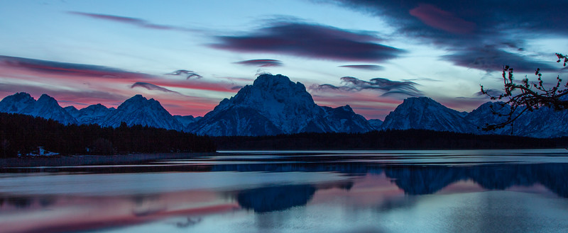 Mt. Moran Reflection