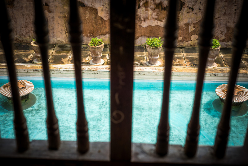 Private Pool From the Tower